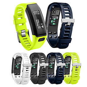 cheap Smartwatch Bands-Watch Band for Garmin Vivosmart HR Garmin Sport Band Silicone Wrist Strap