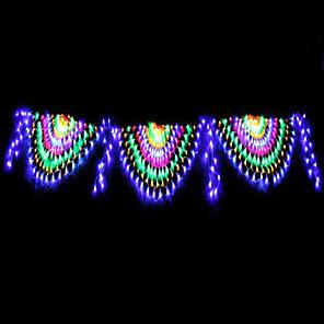 cheap LED String Lights-4m String Lights 420 LEDs 1 set RGB+White Waterproof / Creative / Party 220-240 V