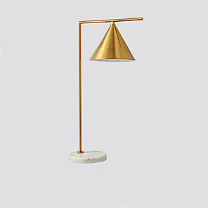 cheap Cocktail Dresses-Table Lamp / Desk Lamp Creative / New Design Simple / Modern Contemporary / Nordic Style For Living Room / Study Room / Office Metal 110-120V / 220-240V Gold