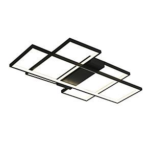 cheap Dimmable Ceiling Lights-1-Light 56 cm Mini Style / Dimmable / LED Flush Mount Lights Metal Geometrical Painted Finishes LED / Modern 110-120V / 220-240V / VDE
