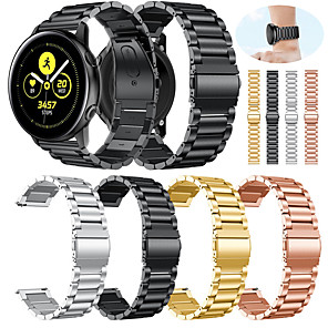 cheap Smartwatch Bands-Watch Band for Samsung Galaxy Active Samsung Galaxy Sport Band Metal / Stainless Steel Wrist Strap