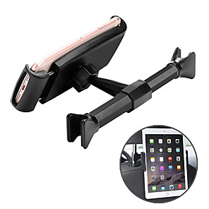 cheap Phone Mounts & Holders-Car Seat Back Pad Adjustable Car Phone Holder for Auto Phone Tablet PC Stand