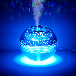 cheap LED Smart Home-LED Night Light Cool Mist Humidifier with USB Port Quiet Operation long run time Decoration <5V 1pc