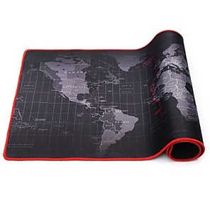 cheap Mouse Pad-30*60*2cm Extra Large Mouse Pad Old World Map Gaming Mousepad Anti-slip Natural Rubber Gaming Mouse Mat with Locking Edge