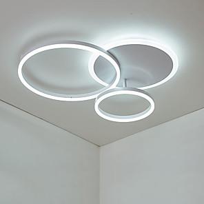 cheap Dimmable Ceiling Lights-1-Light 50 cm Flush Mount Lights Aluminum Novelty Artistic / LED 110-120V / 220-240V