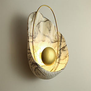 cheap Indoor Wall Lights-Mini Style / Adorable LED / Modern Contemporary Wall Lamps & Sconces Bedroom / Shops / Cafes Resin Wall Light 110-120V / 220-240V