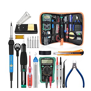cheap Novelties-Electric Iron Welding Set 220V110V 60W Welding Torch Kit With Multimeter Welding Kit