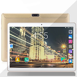 cheap Cell Phones-MTK6753 10.1 Inch Android Tablet(Android 8.0 1280 x 800 Octa Core 2GB+32GB) ,Disk,GPS,WiFi,USB,Octa Core CPU,2+8 MP Camera Computer PC Black white gold