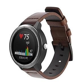 cheap Smartwatch Bands-Watch Band for Vivomove / Vivomove HR / Vivoactive 3 Garmin Sport Band Genuine Leather Wrist Strap