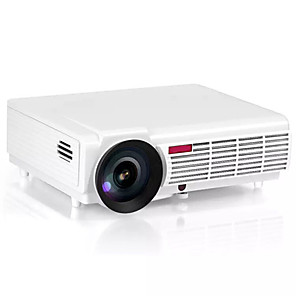 cheap Projectors-LED-96 LCD LED Projector 180 lm Embedded LINUX Operating System Support WXGA (1280x800) 60 - 100 inch