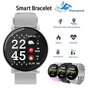 cheap Smartwatches-W8S Smart Watch BT Fitness Tracker Support Notify/ Heart Rate Monitor Sports Smartwatch Compatible with Samsung/ Iphone/ Android Phones