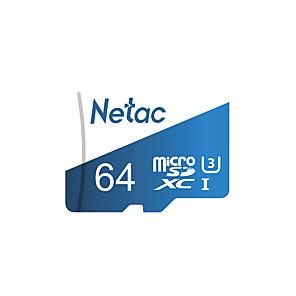 ieftine Card Micro SD/TF-Netac 64GB Micro SD / TF Card de memorie UHS-I U3 100MB/s Cameră Foto