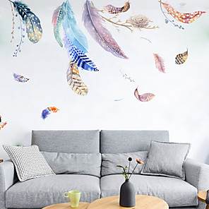 cheap Wall Stickers-Feather Nest Wall Stickers - Words &amp Quotes Wall Stickers Characters Study Room / Office / Dining Room / Kitchen