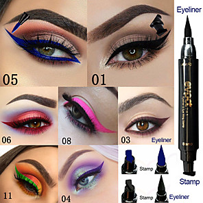 cheap Eyeliner-Brand EVPCT 7 Color Double Head Seal Eyeliner Color Eyeliner Waterproof Durable Eye Cosmetics