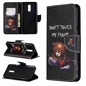 cheap Other Phone Case-Case For LG LG V30 / LG V20 / LG Stylo 4 Wallet / Shockproof / with Stand Full Body Cases Word / Phrase Hard PU Leather / LG G6