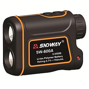 cheap Level Measuring Instruments-SNDWAY 600m SW-600A Monocular metre Laser Rangefinder Distance Meter hunting Telescope trena laser range finder measure outdoor
