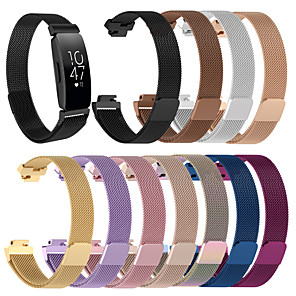 cheap Smartwatch Bands-Watch Band for Fitbit Inspire HR Fitbit Milanese Loop Stainless Steel Wrist Strap