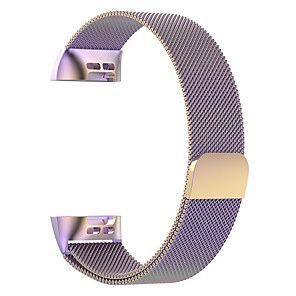 cheap Smartwatch Bands-Watch Band for Fitbit Charge 3 / Fitbit Charge 4 Fitbit Milanese Loop Stainless Steel Wrist Strap