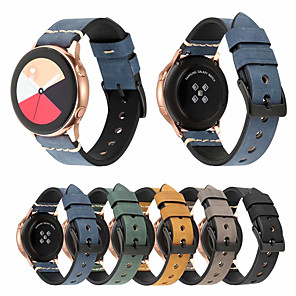 cheap Smartwatch Bands-Watch Band for Huami Amazfit Bip Younth Watch Xiaomi Sport Band / Classic Buckle Genuine Leather Wrist Strap