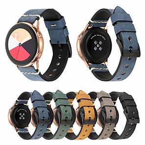 Недорогие Smartwatch Bands-Ремешок для часов для Huami Amazfit Bip Younth Watch Xiaomi Спортивный ремешок / Классическая застежка Натуральная кожа Повязка на запястье