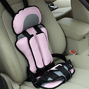 cheap Car Headlights-Car Safety Seat Adjustable Portable Convenient Breathable Polyester Fabric Thickening Baby Safety Seat Childen Protect Seat (3~6 years old)