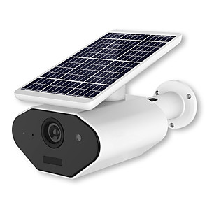 cheap Outdoor IP Network Cameras-1080P 18650 Battery Low Battery Solar Panel wifi IP Camera