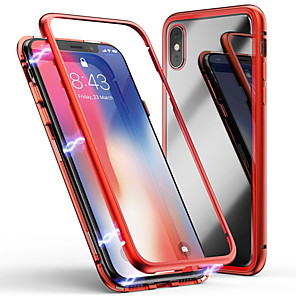 cheap iPhone Cases-Case For Apple iPhone 6 / iPhone XS Max Transparent Back Cover Transparent Hard Tempered Glass for iPhone 6 / iPhone 6 Plus / iPhone 6s