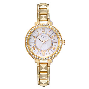 cheap Historical & Vintage Costumes-Women's Quartz Watches Quartz Modern Style Novelty Casual Cute Silver / Gold / Rose Gold Analog - Rose Gold Black Gold