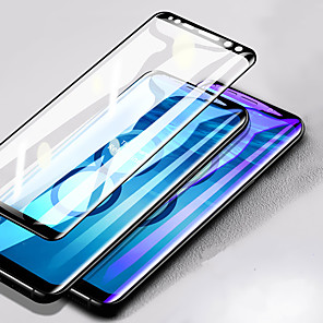 cheap Samsung Screen Protectors-Screen Protector for Samsung Galaxy Note 8 / Note 9 3D Curved Full Tempered Glass 1 pc Front Screen Protector High Definition (HD) / 9H Hardness / Explosion Proof