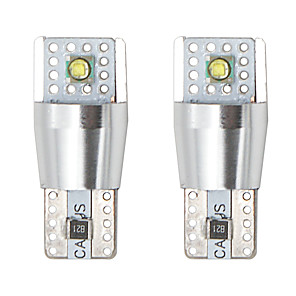 cheap Car Charger-2PCS/lot T10 W5W 2LED Light For Auto Trunk Lamp Reading Light turning Signal Light Clearance Lights 6000k 12v