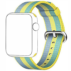 cheap Smartwatch Bands-Watch Band For Apple Sports Nylon Replacement Strap Wrist Band for Apple Watch Series 4/3/2/1 38mm/42mm