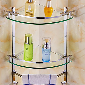 cheap Fruit & Vegetable Tools-Bathroom Shelf Creative / Multifunction Contemporary Metal 1pc Wall Mounted