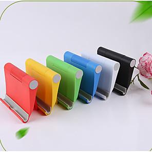 cheap Phone Mounts & Holders-Folding Niversal Mobile Phone Holder Colorful Cage Portable Folding V-shaped Desktop Stand