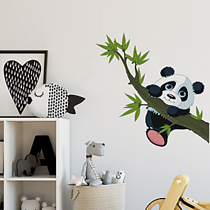 cheap Wall Stickers-Animals Wall Stickers Plane Wall Stickers / Animal Wall Stickers Decorative Wall Stickers, PVC Home Decoration Wall Decal Wall Decoration 1pc