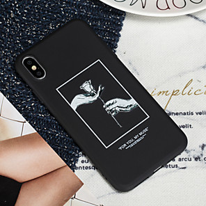 cheap iPhone Cases-Case For Apple iPhone XS iPhone XS Max Phone Case TPU Material Painted Pattern Phone Case for iPhone XR X 7 Plus 8 Plus 7 8 6 Plus 6s Plus 6 6s 5 5s SE