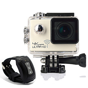 cheap Sports Action Cameras-SJ9000R vlogging Portable / Professional / Underwater Camera 60fps 16 mp 4000 x 3000 Pixel Swimming / Camping / Hiking / Outdoor Exercise 2 inch 16.0MP CMOS Single Shot / Burst Mode / Time-lapse 30 m