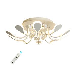 cheap Dimmable Ceiling Lights-UMEI™ 10-Light 68 cm Crystal / Creative / Dimmable Flush Mount Lights Metal Acrylic Sputnik / Crystal / Novelty Painted Finishes LED / Modern 110-120V / 220-240V / FCC