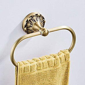 cheap Faucet Accessories-Towel Bar New Design Antique / Country Brass 1pc - Bathroom / Hotel bath Wall Mounted