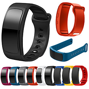 cheap Smartwatch Bands-Watch Band for Gear Fit Pro / Gear Fit 2 Samsung Galaxy Sport Band Silicone Wrist Strap