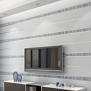cheap Wallpaper-Wallpaper Nonwoven Wall Covering - Adhesive required Geometric