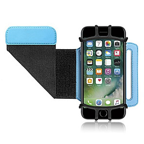 cheap Running Bags-Rotatable Sport Pack Wrist Belt Band Mobile Hiking Cycling Phone Case Bracket for iPhone Samsung Running case Jogging Case for Phone