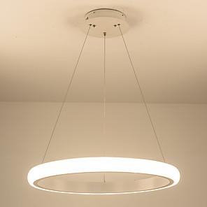 povoljno Dizajn kruga-vodio moderni akril lusteri vodio krug luster privjesak svjetla stropno osvjetljenje za dnevni boravak akril lampara de techo zatvoreni inventar 110-120v / 220-240v