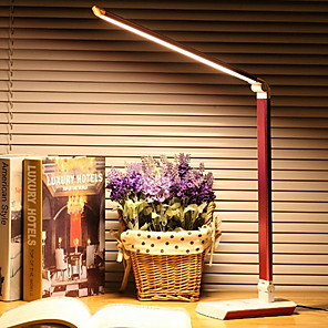 cheap Desk Lamps-Desk Lamp Modern Contemporary USB Powered For Bedroom Study Room Office Metal 220V