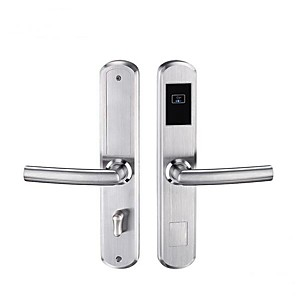 cheap Indoor IP Network Cameras-Hotel apartment management smart lock IC card mechanical key electronic lock cross-border hotel lock smart network lock