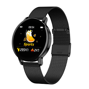cheap Smartwatches-R5 Smart Watch Bluetooth Round-screen Fitness Tracker Support Notify/ Heart Rate Monitor Sports Smartwatch Compatible with Iphone/ Samsung/ Android Phones