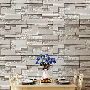 cheap Wallpaper-Wallpaper Nonwoven Wall Covering - Adhesive required Brick