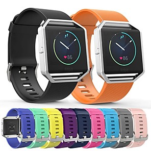 cheap Smartwatch Bands-Watch Band for Fitbit Blaze Fitbit Sport Band Silicone Wrist Strap