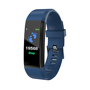 cheap Smart Wristbands-ID115 PLUS Smart Wristband Bluetooth Fitness Tracker Support Notify/ Heart Rate Monitor Waterproof Sports Smartwatch Compatible Samsung/ Android/iPhone
