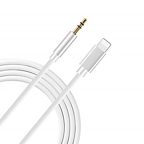 cheap Cell Phone Cables-8pin to 3.5mm Jack Audio Cable for iPhone