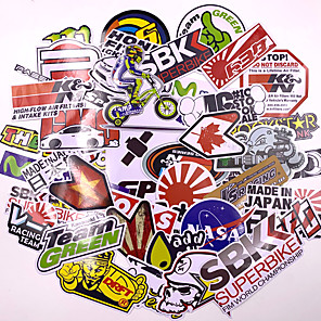 cheap Car Body Decoration & Protection-40pcs Mixed funny brand DIY Sexy stickers for Home decor laptop sticker decal fridge skateboard doodle Car Motorcycle Bicycle
